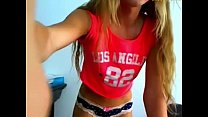 Young camgirl from hornygals.club does what she...