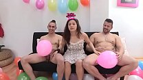 Alba's now 19 and wants to try her first two co...