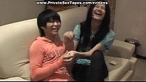 Hottest amateur girlfriend billiard game and wi...