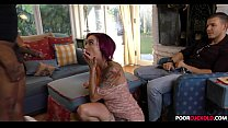 Cuck witness his wife Anna Bell Peaks banging a...