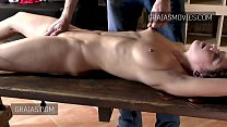 Pussy and boob torture for little teen slut Thumbnail