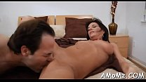 Boy stuffs cock in older hole