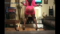 Big Juicy Ass Booty Clap Sexy Black Woman (XVID...