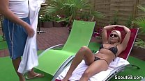 German MILF seduce Young Boy with Huge Dick to ...