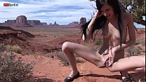 Eroberlin Zoe Rush skinny teen outdoor pissing ... Thumbnail