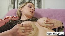 MILF sucks his cock and more
