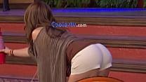Mexicana Andrea Legarreta mega culote empinada ... Thumbnail