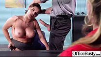 Sexy Office Slut Girl (krissy lynn) With Big Ti...