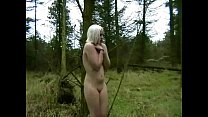Blonde Babe In The Forest