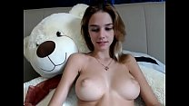 euro teen with tits out chatting - watch more o... Thumbnail
