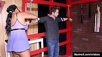 Cambodian Cougar Maxine X Traps, Abuses & Bangs A Burglar!'s Thumb