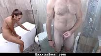 ExxxtraSmall - Fucking My Step-Bro In The Bathroom