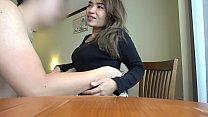สาวสวยผมยาวโดนหนุ่มฝรั่งจ้างมาเย็ดกันในโรงแรมต้องดูเลยหีดำ