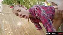 Blonde Teen Starlet Haley Reed Shows What Femal...