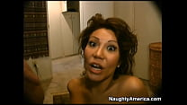 Ava Devine giving a rimjob for a facial