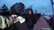 Public Agent Sexy shy Russian babe fucked by a ...