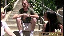 DP with german ebony bukkake teen 13