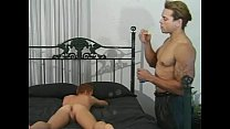 Furious anal stretching as horny muscled studs perform better