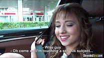 Teen Taissia Shanti gets a free ride, anal and cum