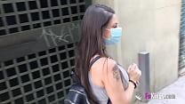 Suge Pula Sub Masca Ca E Corona Virus Si Ii Frica