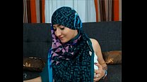 Maleena a muslim Hijabite shows off her Nice ti... Thumbnail