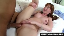 Cum Fiesta - Red head (Marie Mccray) loves cock - Reality Kings