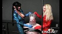 Female domination with wicked bitch goddess usi...