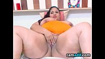 BBW Shows Off Her Tits And Pussy