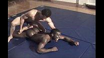 blk naked wrestling frontal assualt Thumbnail