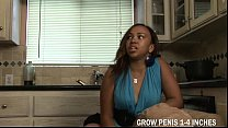 Horny Teen Ebony Deserve A Bigcock To Fuck