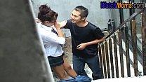 School girl doing sex with slum boy