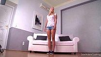 Sex Video Casting Makes Ultra Innocent Schoolgi...