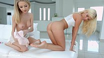 Lesbian scene with Goldi and Candee Licious by ...