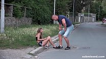 Gorgeous babe Sarah Kay kidnapped and brutally ... Thumbnail