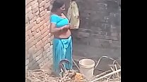 My Neighbour aunty Bathing showing her big boobs. Thumbnail