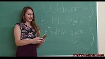 Ex-Teacher Nina Skye loves big black cock Thumbnail