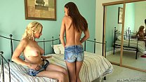 Kacy Lane and Alix Lynx Lesbian Porn Thumbnail