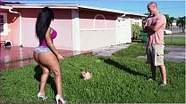 BANGBROS - Latina Rose Monroe's Big Ass Bouncing On Sean Lawless's Cock