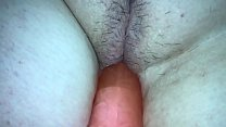 sleep wife dildoed in her wet pussy