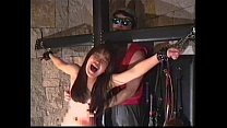 Tickling how it should be: cute slavegirl break...