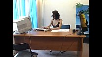 Shaina Beurette in the Office