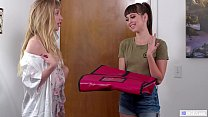 GIRLSWAY - Roleplaying lesbian couple - Riley R...