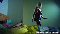 Brazzers - Hot milf Leigh Darby fucks sons friends Thumbnail