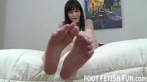 I love showing off my 18yo feet