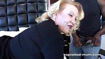 Mature blonde milf fucking big black cock in Big Black Cock Video