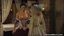 Countess Enjoys In Fresh Lesbian Slaves's Thumb