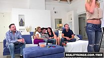 RealityKings - Sneaky Sex - Brad Knight Chloe Amour Monique Alexander Sne - Game Night Thumbnail