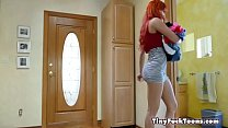 Petite Panty Snatch And Sniff - Gracie May Gree...