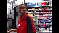 Quickie Mart Blowjob and swallows. Thumbnail