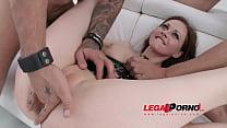 Tina Kay 4on1 mini gangbang & DP for Legal Porn...